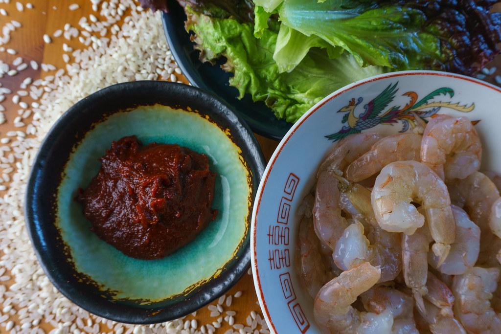 Kocheejang Family Dinner Ingredients