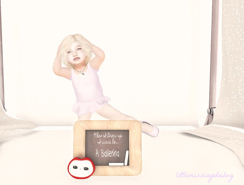 When I grow up I wanna dance!