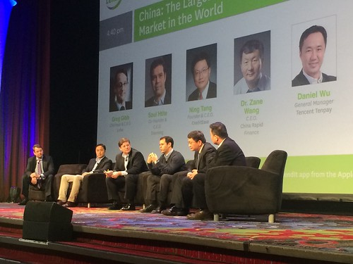 Soul Htite in the China panel at Lendit USA 2015