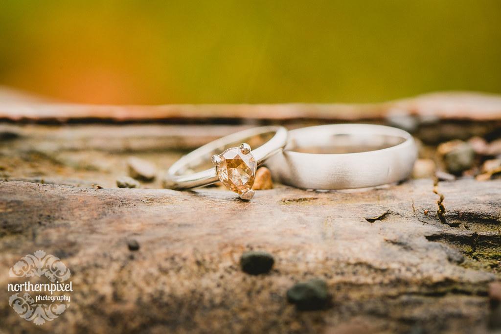 Wedding Rings British Columbia Wedding Photographer Northern Pixel Photography