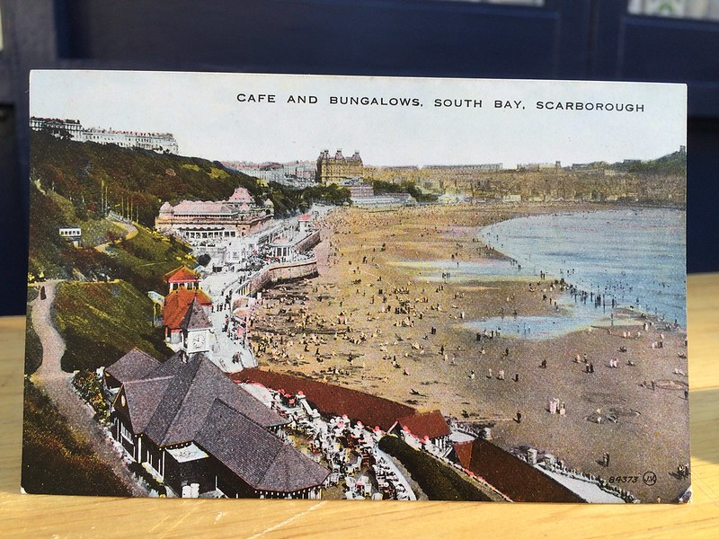 Cafe and Bungalows, South Bay, Scarborough
