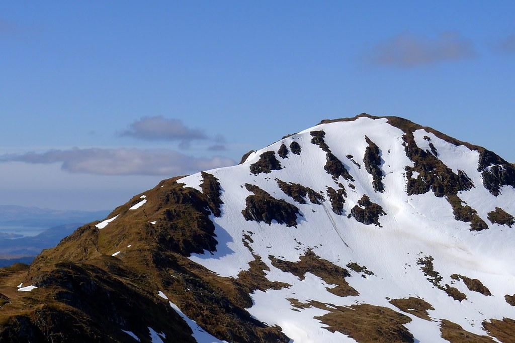 The Beinn Bhuidhe ridge