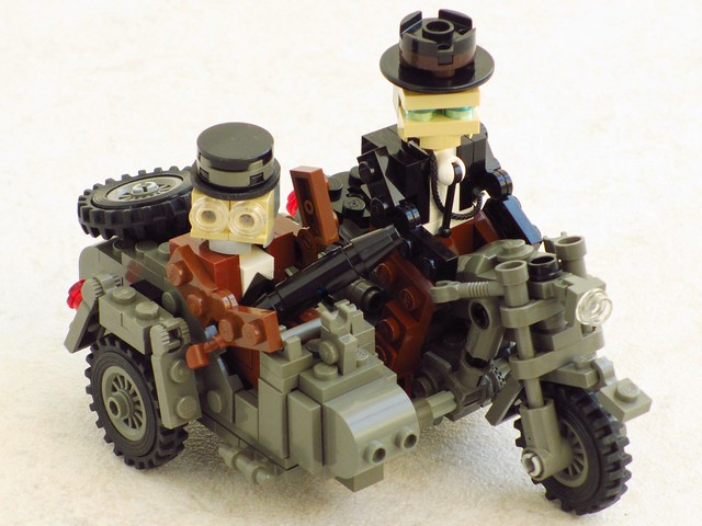 Indiana Jones: The Last Crusade, motorcycle and sidecar