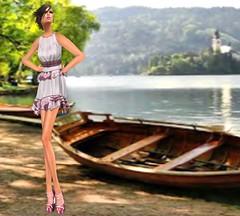 Wicca's Wardrobe - Prisilla Dress [Pink]