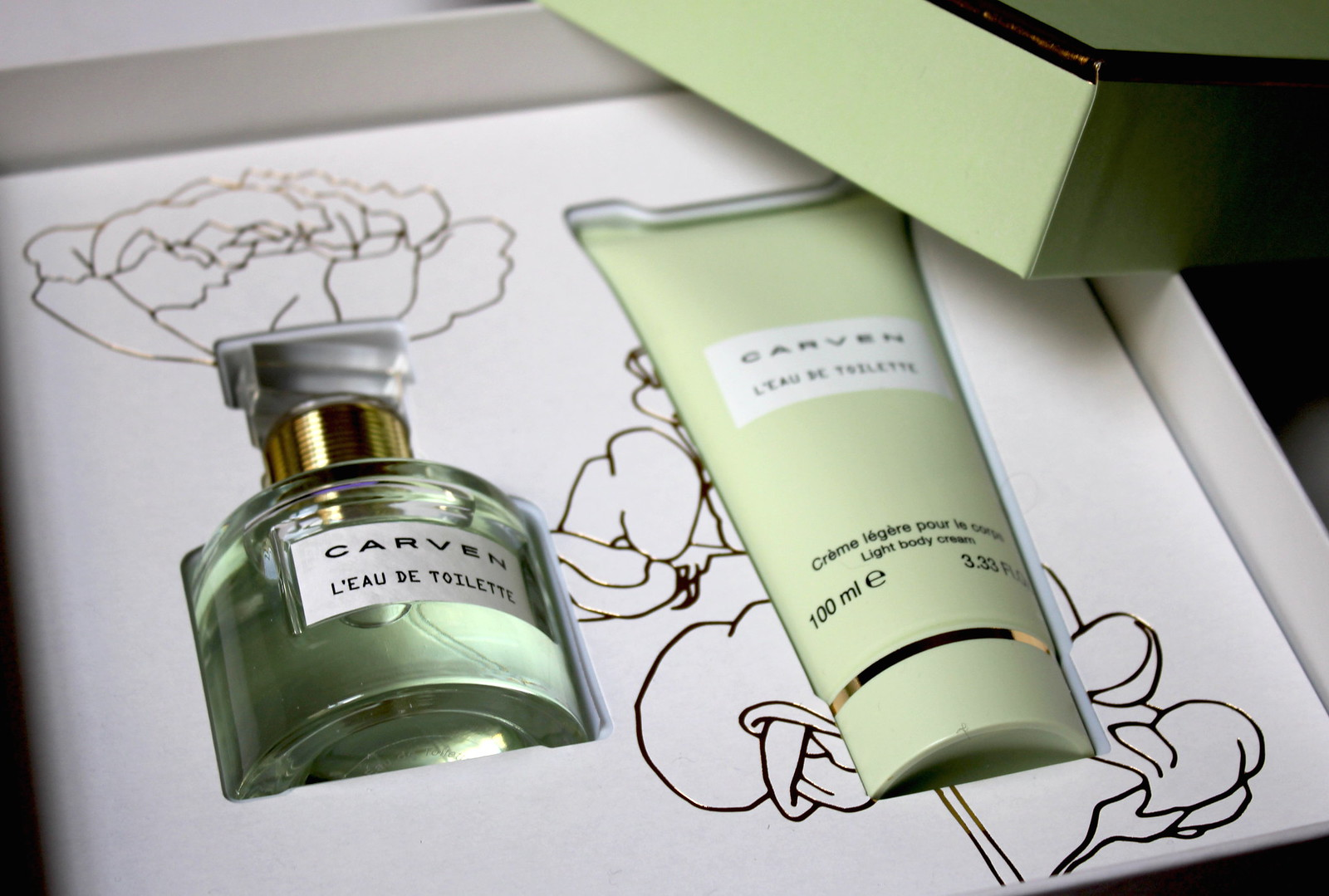 Coffret Carven Parfum