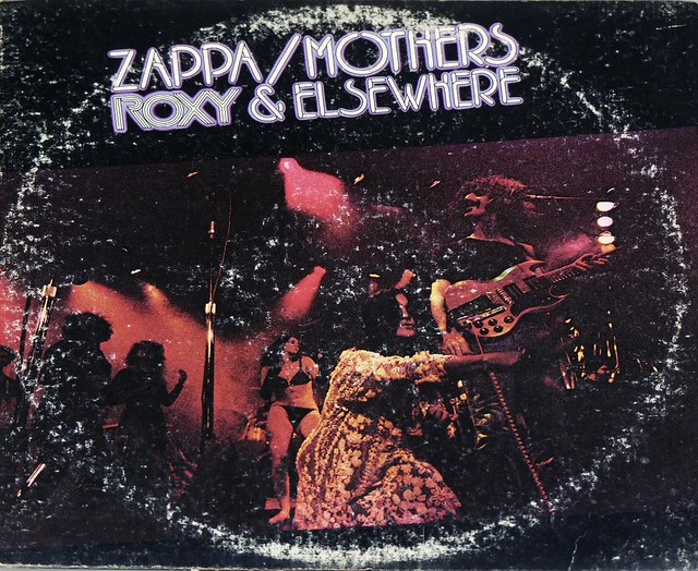 Frank Zappa Amp Mothers Of Invention Roxy Amp Elsewhere Dlp