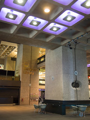 Barbican foyer and library