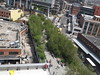 Aerial View of High Line, View from Whitney Museum, New York City