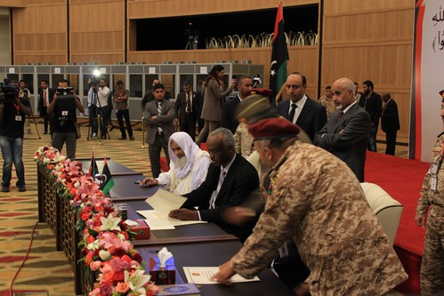 Signing of the Sabha Peace Agreement