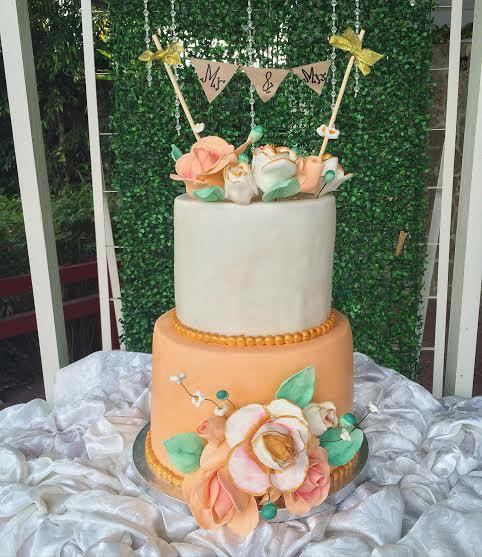 Cake by Jen Macatangay of Sweet Treats by Jen