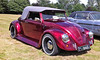 'Beetle Juiced' Classic VW Beetle American Custonm and Kit car show Aylesford Priory Kent.