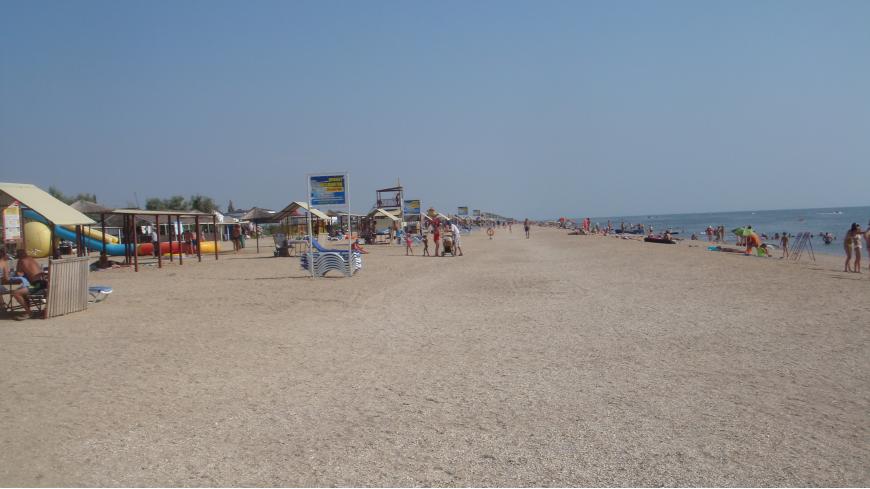 Новые пляжи на Косе Долгой способны разгрузить переполненное Черноморское побережье