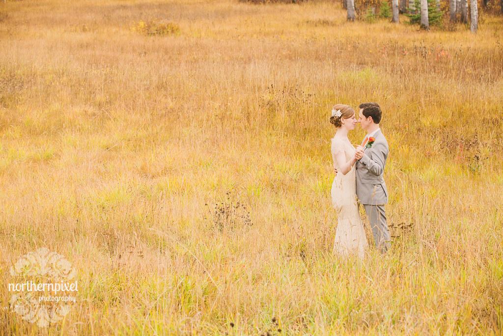 Fall Wedding near Smithers British Columbia