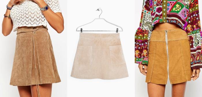 faldas de ante