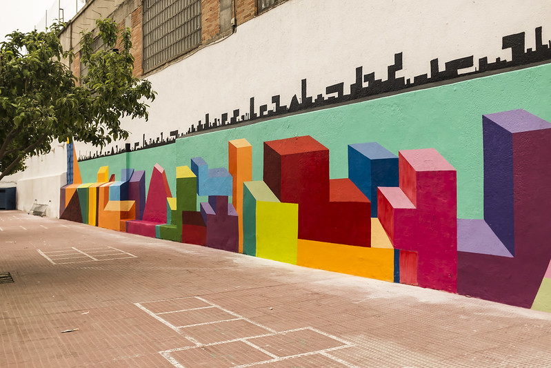 El mural de la Inclusión, de Antonyo Marest