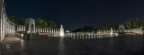 World War II Memorial Panorama by Geoff Livingston