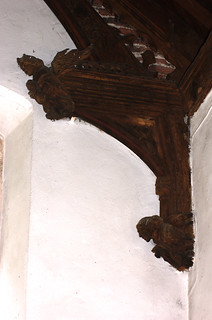 Outwell, Norfolk, St. Clement's church, Lynne chapel, carvings