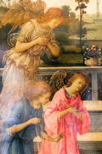 Angels in Hermitage Museum, Saint Petersburg, Russia サンクトペテルブルク、エルミタージュ美術館の天使たち
