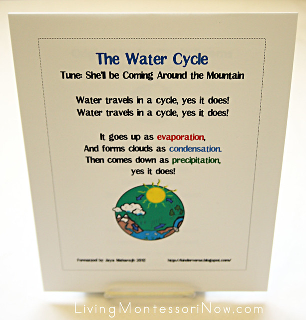Water Cycle Songs and Poems