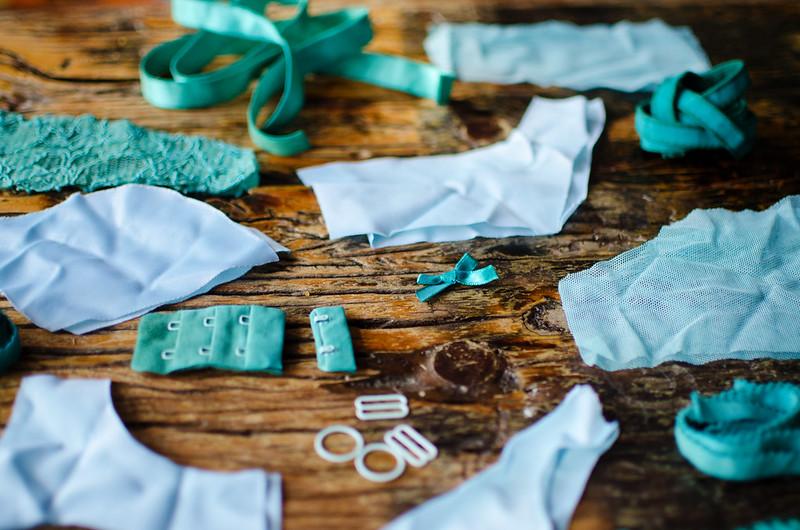 Turquoise bra