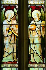 two angel musicians (Heaton, Butler & Bayne)