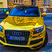 Golden Audi (HDR)
