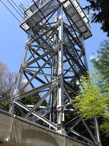 三国山対空管制塔