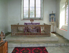 three-sided communion rails