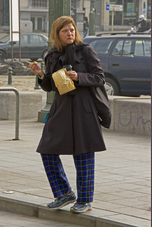 """Pyjamas"" Place Stephanie, Brussels, April 2015."