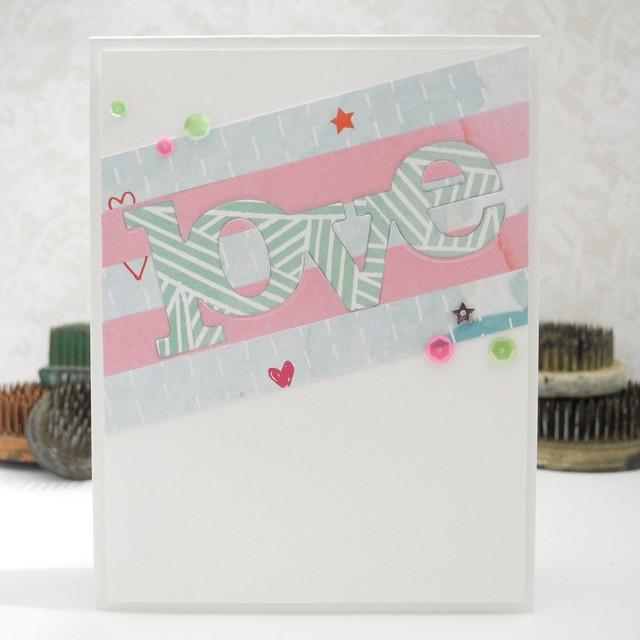 Love by Jennifer Ingle #pinkfreshstudio #winnieandwalter #scrapbooking #nsd