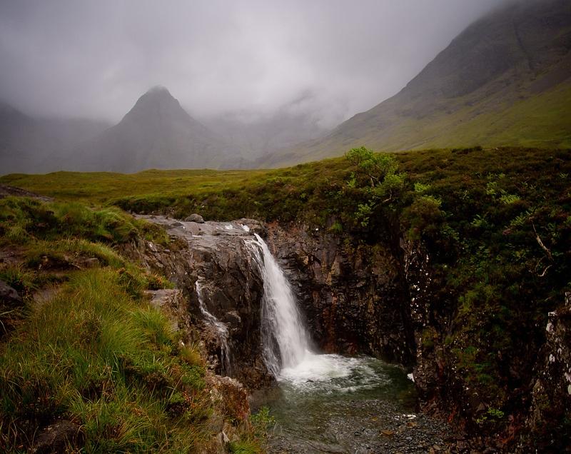 Piscinas de hadas en la Isla de Skye