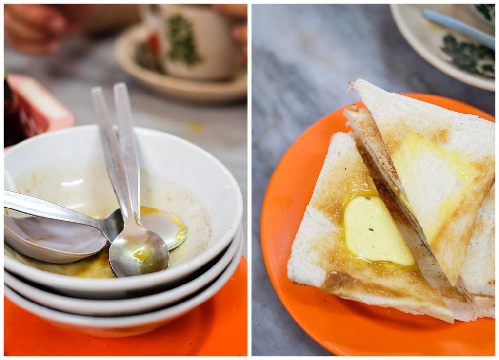 Restoran Kin Wah's Toast Kaya & Butter Bread