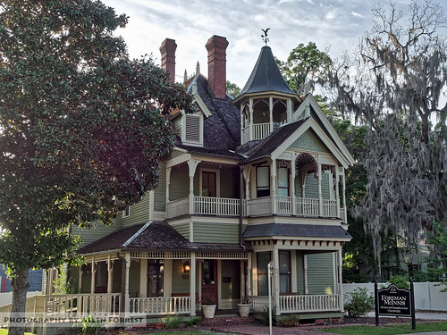 florida lakecity oldhouse queenanne stickeastlake victorian unitedstates us