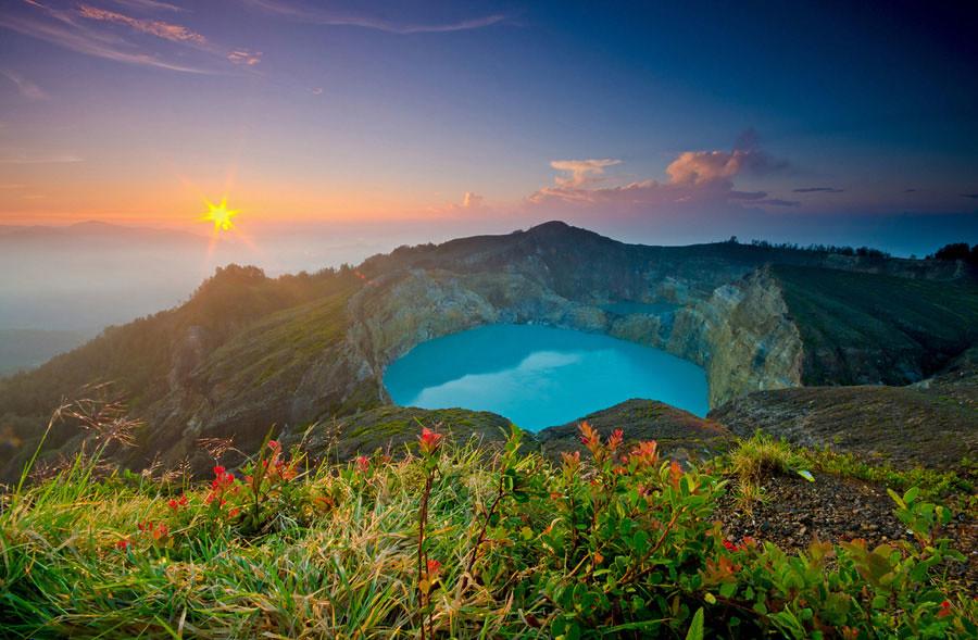 12. Mt Kelimutu, Flores via Shann Biglione