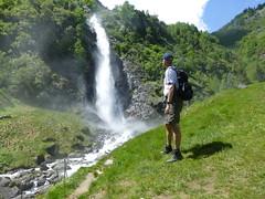 Axel am Partschinser Wasserfall