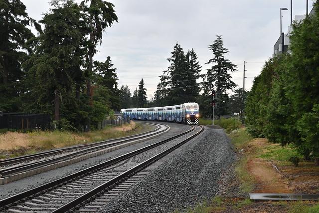 Sounder 1509 Arriving at Lakewood Station