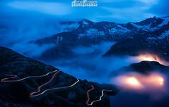 Sbucando dalle nuvole si sale al Nivolet - Valle Orco