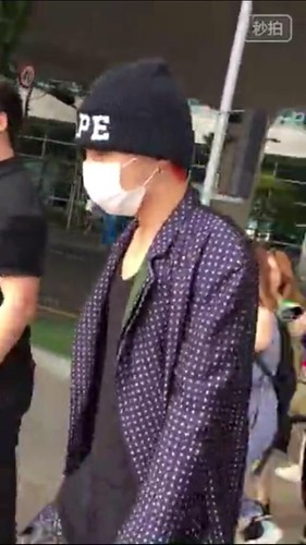 G-Dragon Arrival Seoul from Paris 2015-07-09 009
