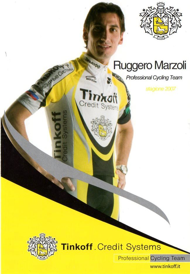 Ruggero Marzoli - Tinkoff 2007