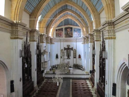 Sucre: l'église gothique du Couvent de la Recoleta