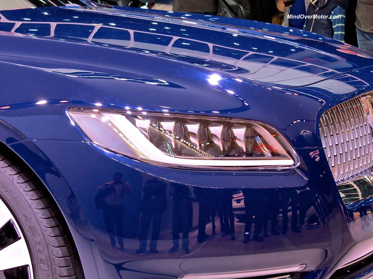 Lincoln Continental Concept Headlight
