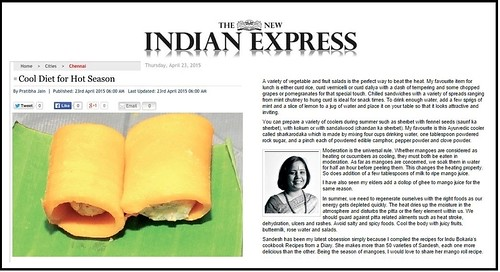 Interview by Indian Express