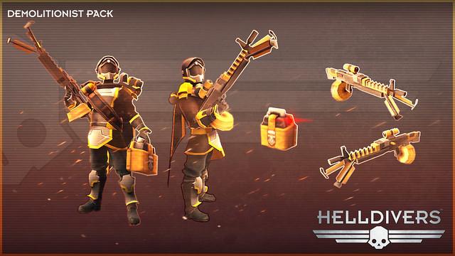 Новые дополнения для Helldivers