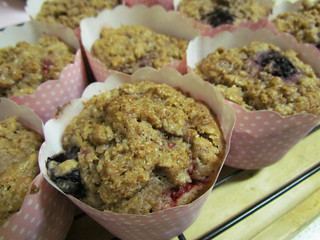Chai Berry Muffins