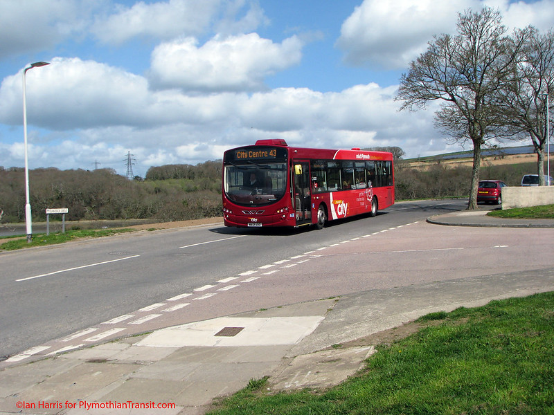 Plymouth Citybus 107