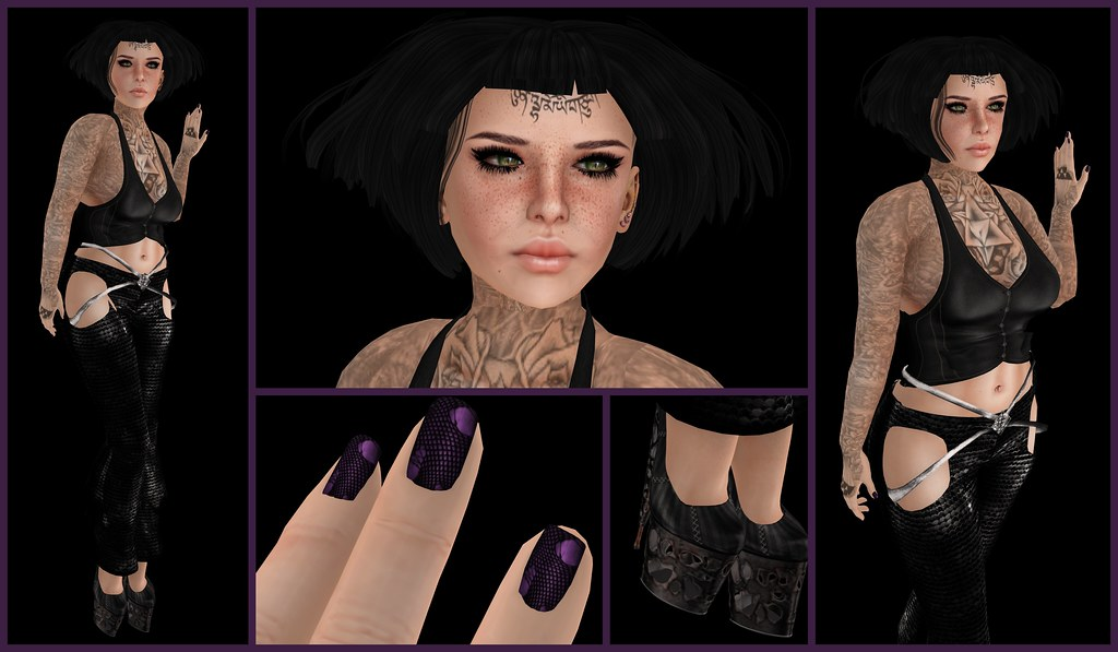 7DS. 7 Deadly Skins, 7 Deadly s{K}ins, Koketka, IKON, Soonsiki, DP, Dark Passions, Datum, Carnevil, Swagged Out, 100 Block, Depraved Nation, Lolita, anyBODY, Biscuit, HW, HollyWeird, KaTink, Second Life, Momma's Style, JenJen Sommerfleck