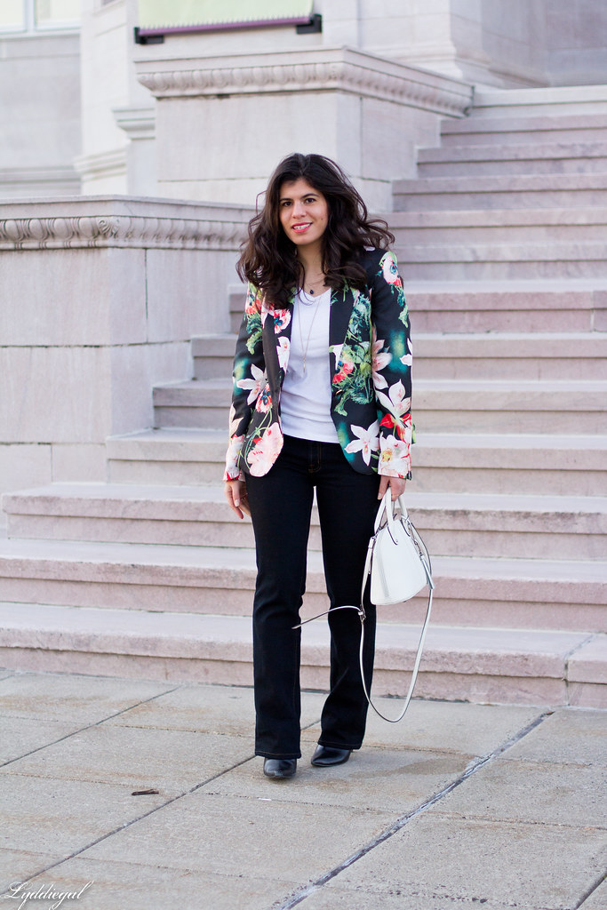 floral blazer, flared jeans, white satchel-1.jpg