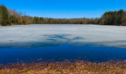 lake ice water landscape spring thaw canong15