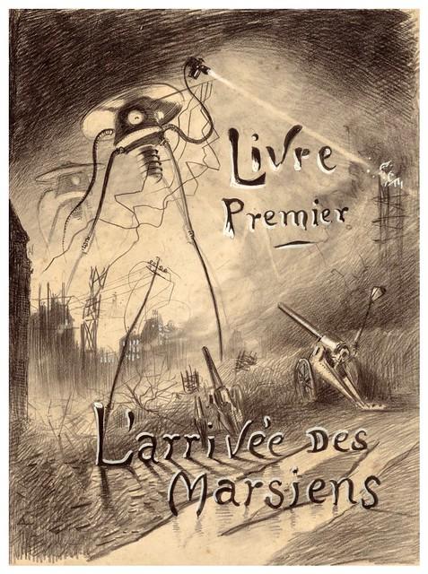 009-La Guerre des Mondes illustreè par Alvim Corrêa-1906- Heritage Auctions