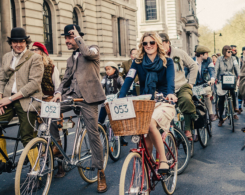 Tweed Run on Pause
